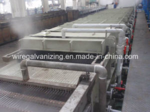 Steel Wire Heat Treatment Continuous Line with Pay-off and Take-up pictures & photos
