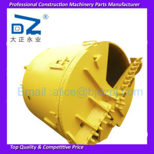 2016 New Rock Drilling Bucket with Bullet Teeth for America Construction Machinery
