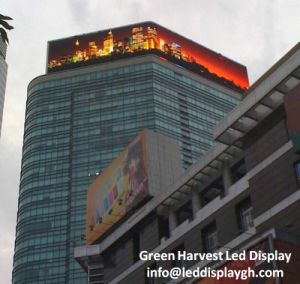 IP65 waterproof P8 P10 P16 P20 DIP Advertisement High Brightness Outdoor LED Display pictures & photos