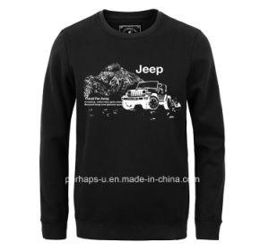 Custom Long Sleeve Mens Polar Fleece Sweater with Print Logo pictures & photos