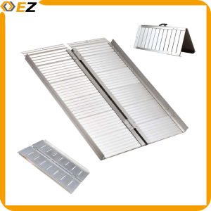 Folding Portable Wheelchair Ramp for Various Purposes pictures & photos