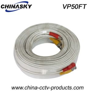 Pre-Made Power and Video 50FT CCTV Cable (VP50FT) pictures & photos