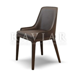 Kaviar Hot Sales Home Furniture Dining Chair with Wood Veneer Backing (RA127)