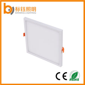 White Color Housing Ultrathin Slim Lamp 6W LED Ceiling Lighting Square Panel Light pictures & photos