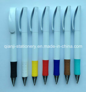 White Color Ballpoint Pen (P2010A) pictures & photos