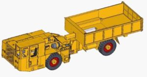 Flame Proof Dumper Truck 8 Tons pictures & photos