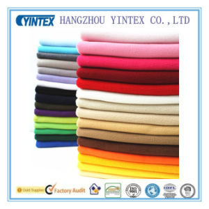 Handmade Plain Deyed Polar Fleece Lining Fabric for Home Textiles pictures & photos