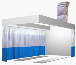 Spray Painting Room/Car Prep Booth for The Plant pictures & photos