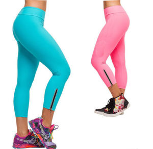 Fashion Candy Colors Cotton Gym Stretch Pants (SR8234) pictures & photos