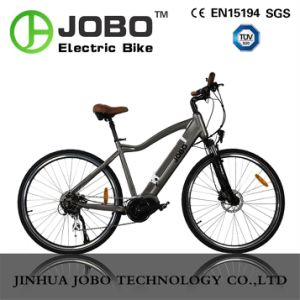 Moped Electric MTB Bike MID Motor Electric Bicycle (JB-TDE15L) pictures & photos