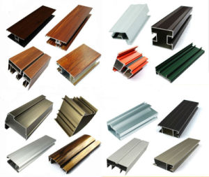 Aluminum Extrusion Enclosure Profiles Sliding Window pictures & photos