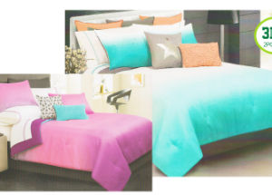 Printed Microfiber Comforter Set M pictures & photos