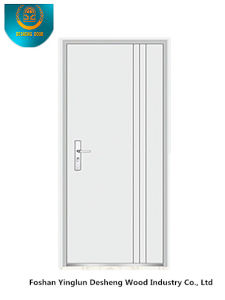 Modern Style Steel Door for Interior or Exterior with White Color (s-6014) pictures & photos
