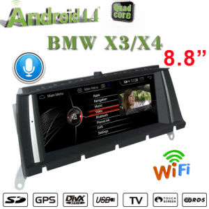 Android 7.1 2+32g BMW X3 F25 (2010.9--) / BMW X4 F26 (2014.4--) 2DIN Car Stereo GPS Navradio Video Player DVD 3G WiFi Video in Dash Units W GPS pictures & photos