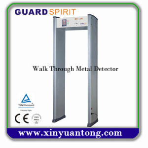 Harmless to Human Body Walk Through Metal Detector Xyt2101-II pictures & photos