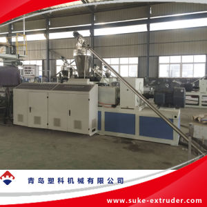 PVC Sheet Extrusion Making Machine (SJSZ80X156) pictures & photos