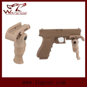 Military Airsoft Tactical Folding Foregrip for Pistol Grip pictures & photos