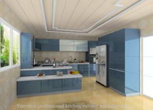 Modern Island Style Kitchen Furniture (S108)