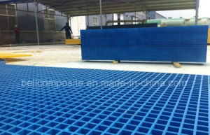 Fibreglass Grating, Industrial GRP Grating, Molded Grating pictures & photos