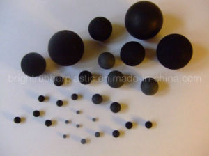 Hot Sell Black Rubber Ball pictures & photos
