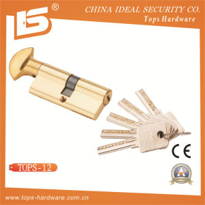 Brass Normal Key Lock Cylinder (TOPS-12) pictures & photos