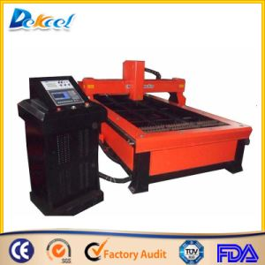 CNC Plasma Cutting Machine Cut 20mm Mild Steel Sheet pictures & photos