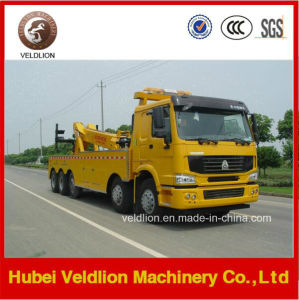 8X4 HOWO 60 Tons/60t/60ton/ Heavyduty Rotator Wrecker Towing Truck pictures & photos