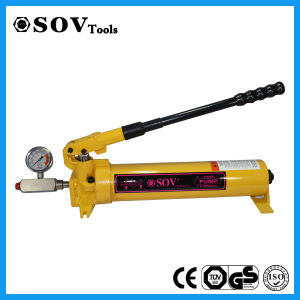 P80 Single Acting Hydraulic Hand Pump pictures & photos