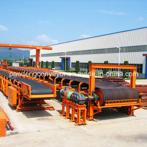 ISO Belt Conveyor System with Rubber Conveyor Belt