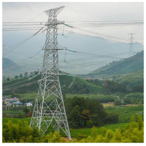 Angle Steel Transmission Tower/Steel Structure (Hot DIP Galvanized)