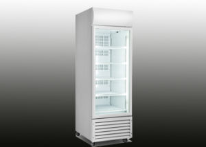 360L Upright Beverage Display Freezer with Lock pictures & photos