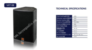 Vxt08 Loudspeaker Speech Audio 10 Inch /12 Inch /15 Inch pictures & photos