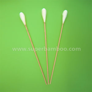 8′ Bamboo Stick Cotton Swab for Medical/Industry Use (B3520312)