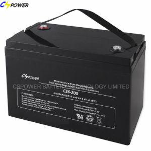 UPS Battery 6V 225ah VRLA Battery CS6-225D pictures & photos
