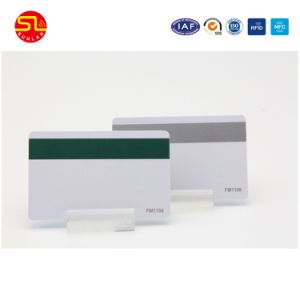13.56MHz Blank Magnetic Stripe Smart Card with Bottom Price pictures & photos