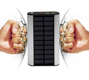 New Solar USB Mobile Phone Charger Energy 10000mAh Mobile Power pictures & photos