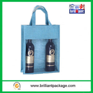 Wholesale Non Woven or Other Wine Bottle Bag pictures & photos