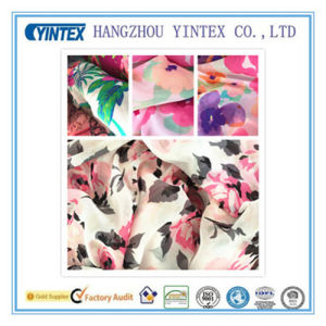 "56""Handmade&Knitted 100% Polyester Flat Ggt Printed 100d Fabric, 100d*100d/104*76 pictures & photos"