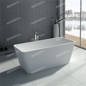 Modern Design Solid Surface Freestanding Bathroom Mineral Bathtub (JZ8603)