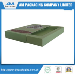 Custom Design Paper Gift Box with Sliding Drawer pictures & photos