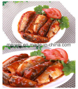 Hot Selling Canned Mackerel Fish in Tomato Sauce pictures & photos