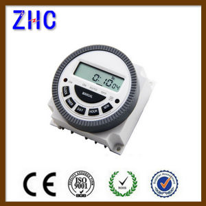 Factory Price LCD Digital Power Programmable Timer Time Switch pictures & photos