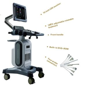Huc-800 Color 4D Doppler Ultrasound Diagnostic System pictures & photos