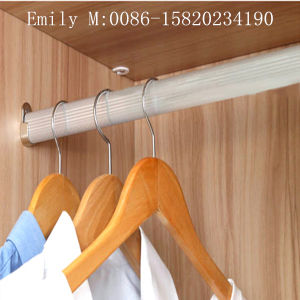 Three Silding Door Melamine MDF Wardrobe (ZHUV factory) pictures & photos