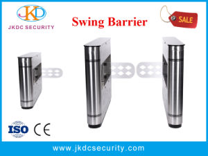 Wider Channel for Wheelchairs Handicap Channel Swing Barrier pictures & photos
