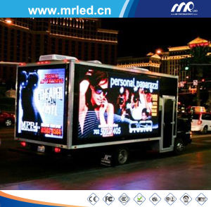 P10 High Resolutin Digital Mobile LED Display/Outdoor Full Color LED Moving Sign pictures & photos
