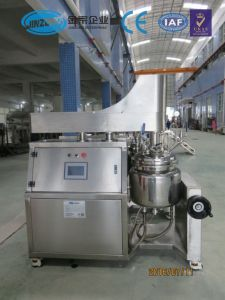 Jinzong 100L Face Wash Vacuum Emulsifying Machine pictures & photos