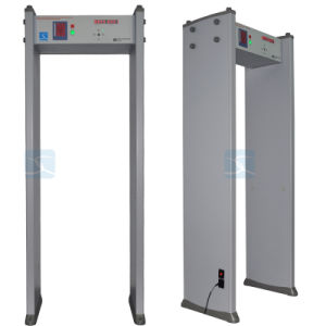 33 Zones Door Frame Archway Security Walk Through Metal Detector Gate pictures & photos
