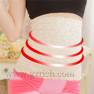 Germanium Lace Waist Shaper/Tummy Binder/Tube Top/Women Waist Trainer pictures & photos