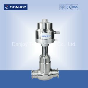 Stainless Steel Pneumatic Globe Valve with Clamped Ends pictures & photos